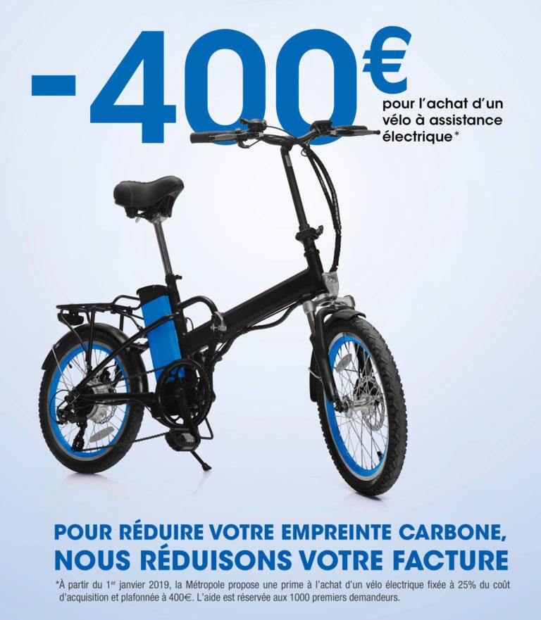 subvention prime vélo électrique département bouches du rhones aide