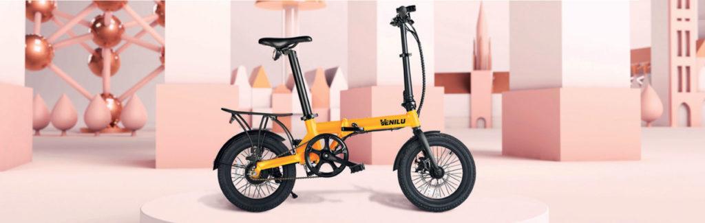venilu vélo électrique pliant pour camping car